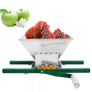 ECO-WORTHY 7 Litre Stainless Steel Fruit Crusher