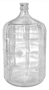 glass carboy wine fermentation container