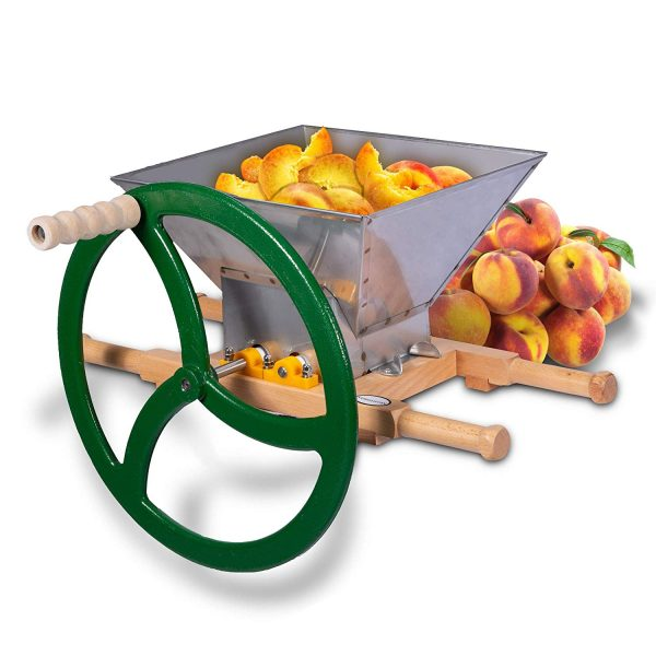 manual grape and fruit crusher