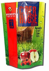 Brewer's Best Cider House Select - Mixed Berry Cider Making Kit