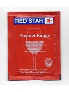 red star winemaking yeast